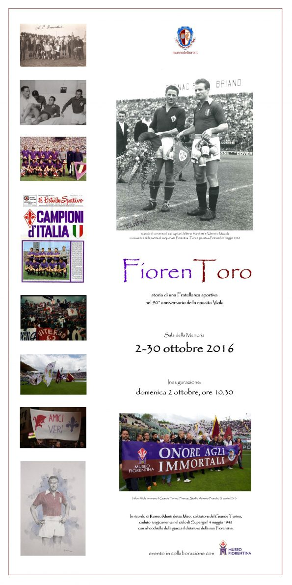 Locandina mostra temporanea FiorenToro