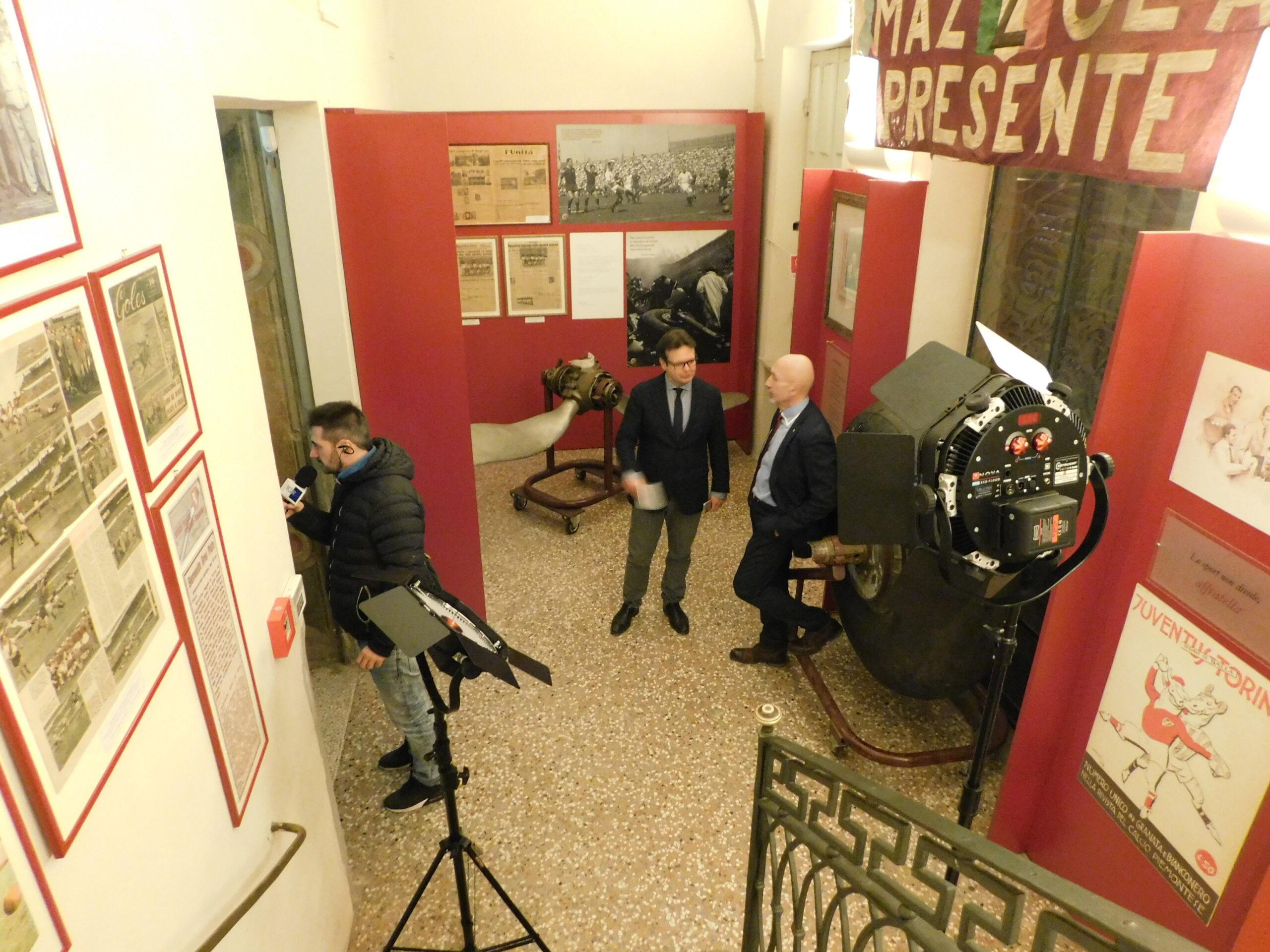 Video – INTERVISTA AL MUSEO: VALENTINO MAZZOLA – Backstage.