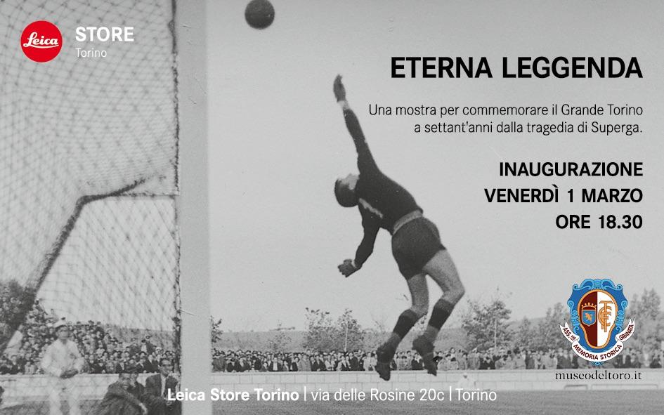 "REMIND – INAUGURAZIONE MOSTRA ""ETERNA LEGGENDA"" PRESSO LEICA STORE TORINO"