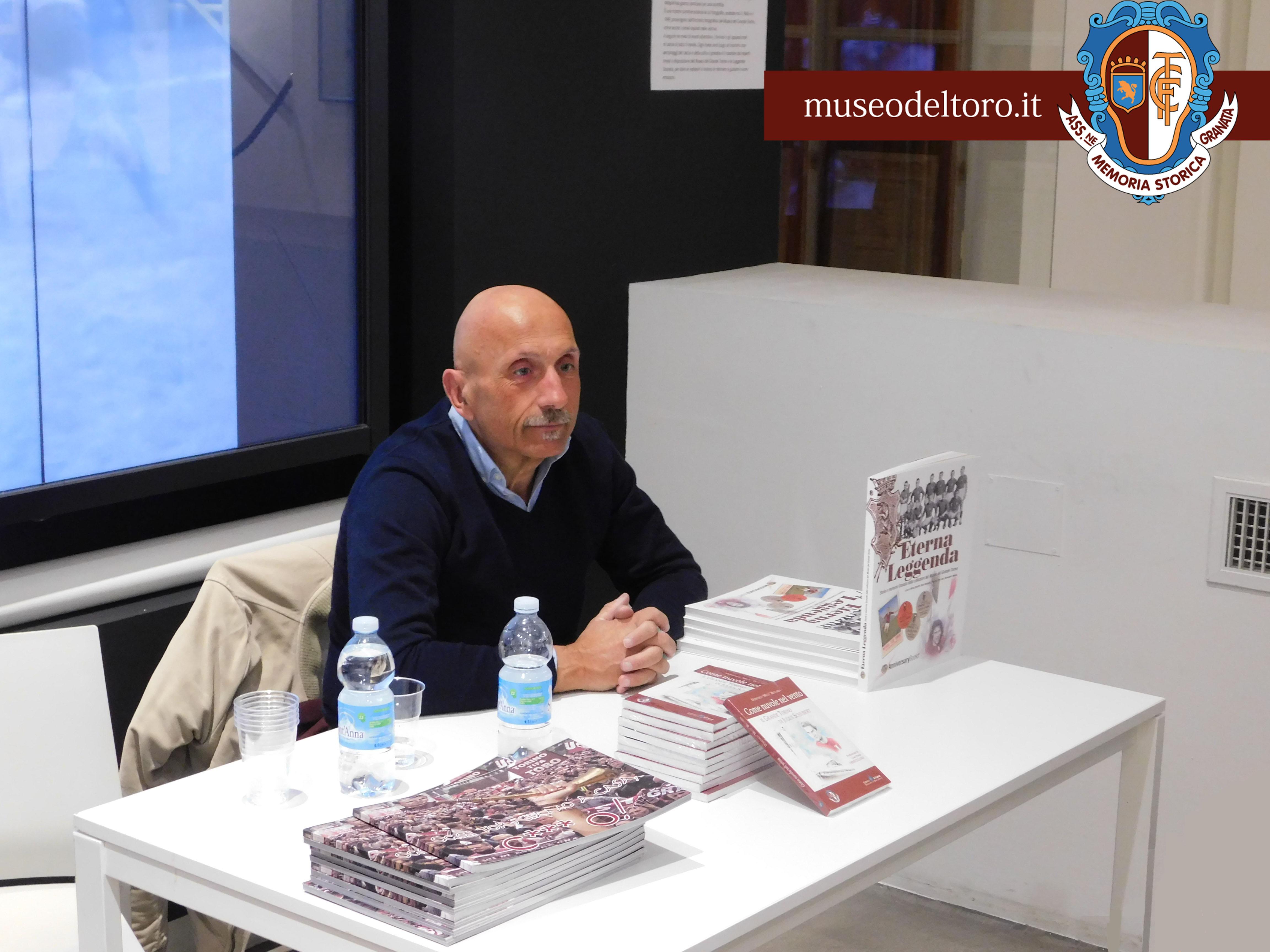 BECCARIA RACCONTA IL GRANDE TORINO ATTRAVERSO LA BIBLIOTECA DEL MUSEO