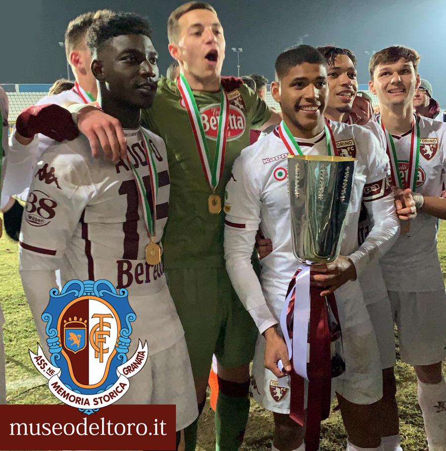 ESPOSIZIONE SUPERCOPPA VINTA DALLA PRIMAVERA DEL TORINO FC