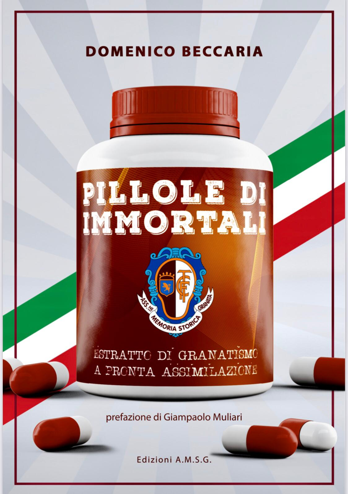 """PRESENTAZIONE DEL LIBRO DI BECCARIA """"PILLOLE DI IMMORTALI"""""""