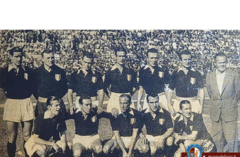 ACCADDE OGGI /27 luglio 1948 il Grande Torino disputa il suo quarto ed ultimo match della tournée brasiliana.