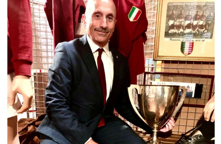 La Coppa Italia vinta dal Grande Torino nel 1943 è al Museo del Toro